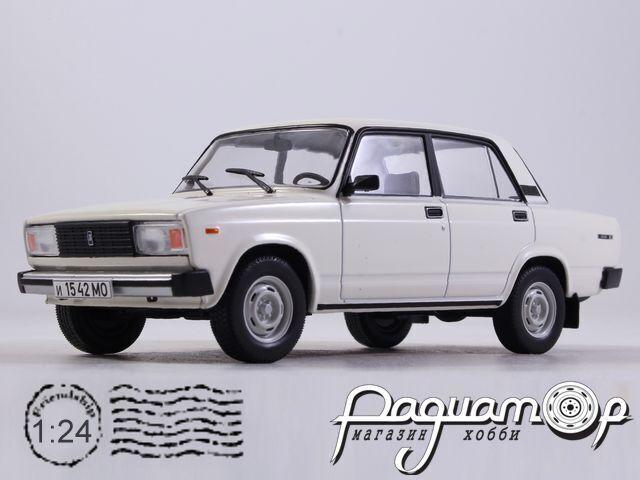Легендарные Советские Автомобили №57, ВАЗ-2105 «Жигули» (1979)