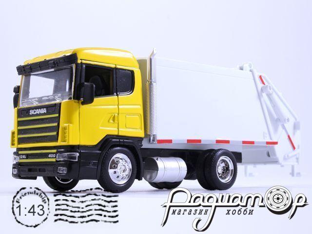 Scania 124L/400 мусоровоз (1995) 15563 (VZ)