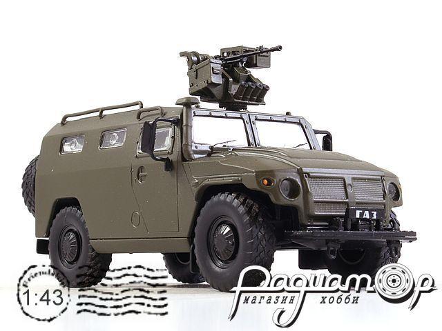 ГАЗ-233036 «Тигр» с боевым модулем Арбалет (2005) NRG43001