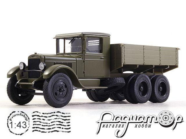 Легендарные Грузовики СССР №17, ЗИС-6 (1933)