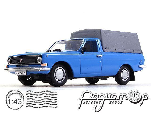 ГАЗ-24-А948 пикап c тентом (1980) PZ-41.4-Special