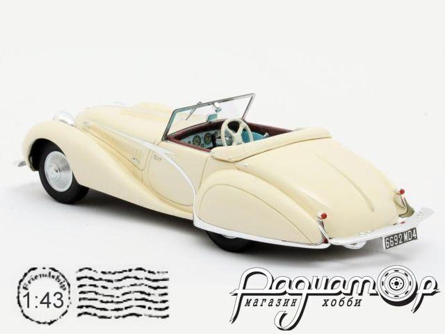 Talbot-Lago T150C Cabriolet Figoni & Falaschi №90111 (1936) MX41904-031