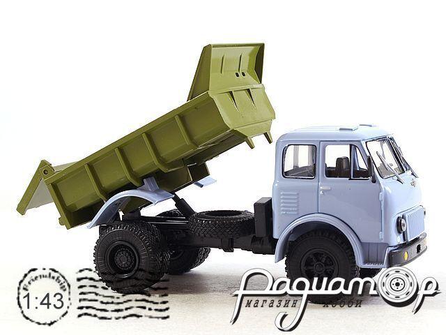 Легендарные Грузовики СССР №18, МАЗ-503Б (1968)