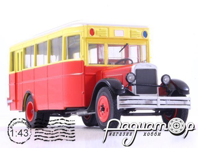Наши Автобусы №9, ЗиС-8 (1934)