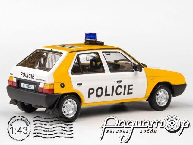 Skoda Favorit 136L Policie CSFR (1988) 143ABSX-708XA1