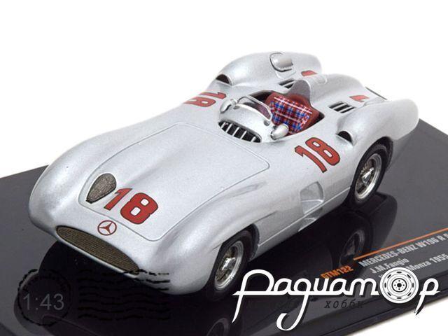 Mercedes-Benz W196R Streamliner №18, Winner Monza (1955) GTM122