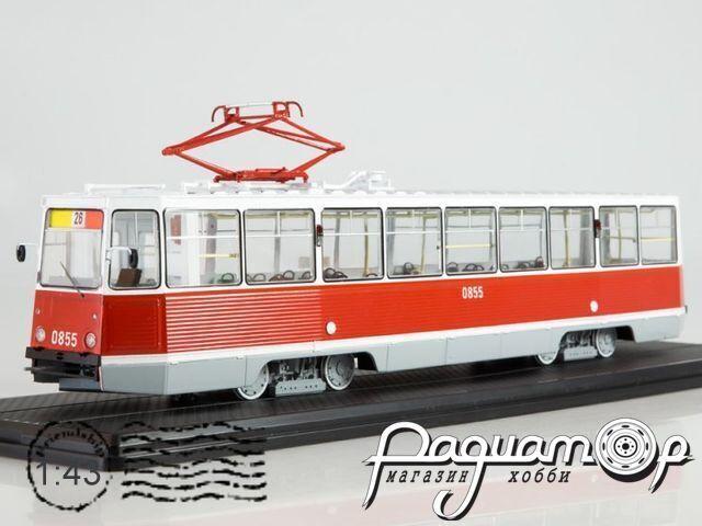 Трамвай КТМ-5М3 (71-605) Ленинград, маршрут 26 (1971) SSM4040