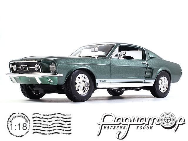 Ford Mustang GTA (1967) 31166 (D)