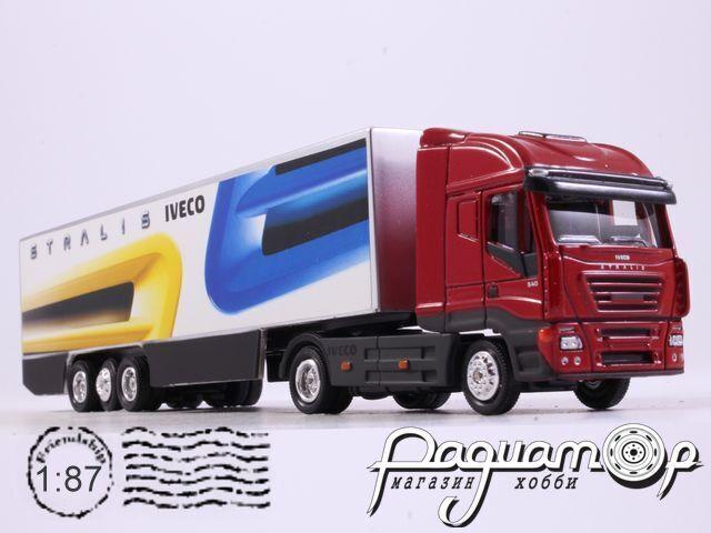 Iveco Stralis с полуприцепом (2002) 150458 (D)