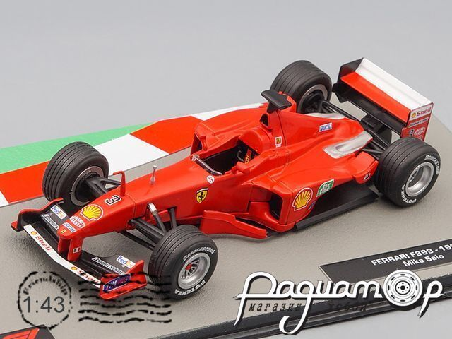 Formula 1 Auto Collection №31, Ferrari F399 Мики Сало (1999)