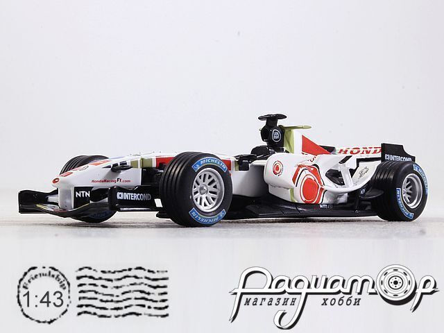 Formula 1 Auto Collection №33, Honda RA106 Дженсон Баттон (2006)