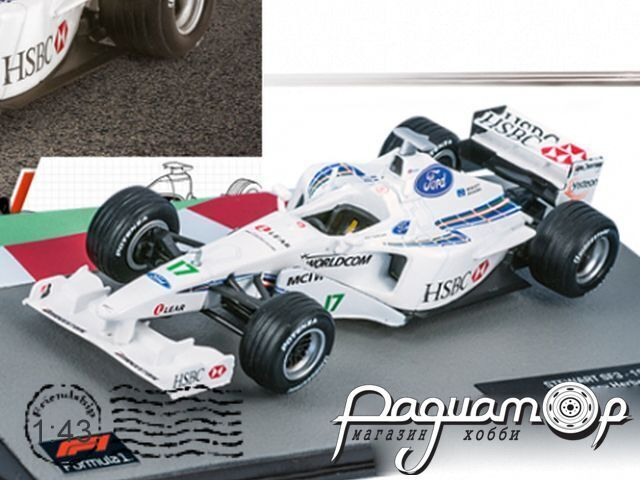 Formula 1 Auto Collection №34, Stewart SF3 Джонни Херберта (1999)