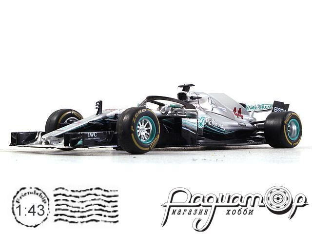 Formula 1 Auto Collection №35, Mercedes W09 EQ Power+ Льюиса Хэмилтона (2018)