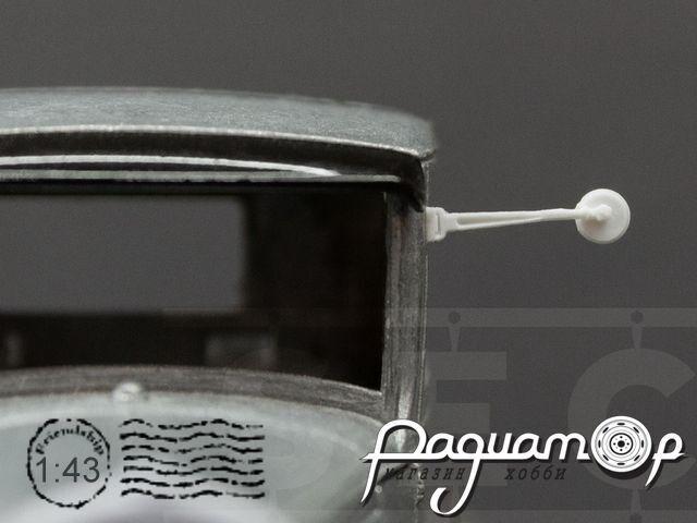 Зеркало с кронштейном для ГАЗ-АА (2шт) SEC019