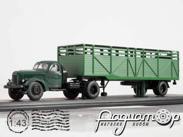 ЗИЛ-ММЗ-164АН с полуприцепом ММЗ-584Б (1957) SSM7061