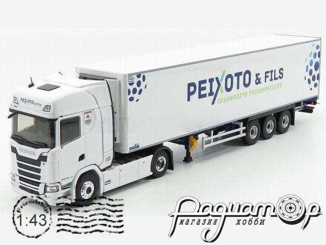 Scania S450 Truck Semi-Frigo Peixoto & Fils Transports (2016) 116742
