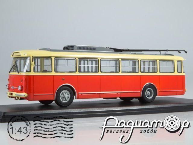 Троллейбус Skoda-9TR (1961) SSM4044