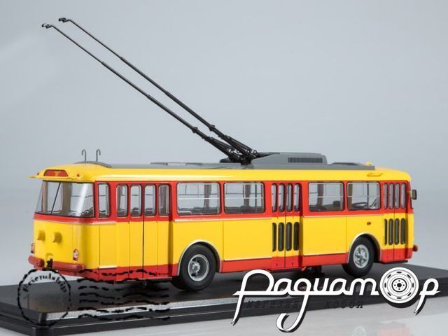Троллейбус Skoda-9TR (1961) SSM4041