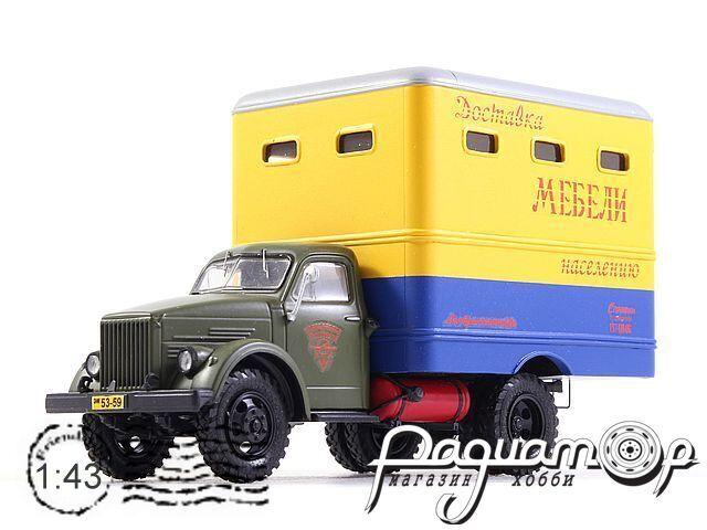 Мебельный фургон Т-246 (51Ж) Главмосавтотранс (1959) NRG43010
