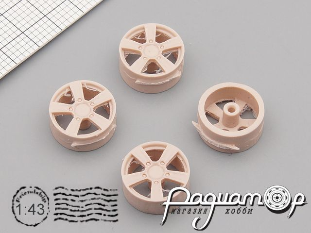 Комплект дисков КиК Ниагара для ВАЗ-2121 GM007-1