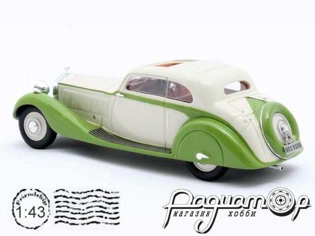 Rolls-Royce Phantom II Continental №62UK Sports Coupe Gurney Nutting, personal car Maharajah of Jodhpur (1935) MX41705-091