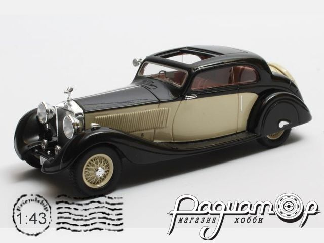 Rolls-Royce Phantom II Continental №62UK Sports Coupe Gurney Nutting, personal car Maharajah of Jodhpur (1935) MX41705-092