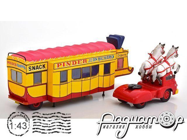 Pinder Circus Caravan Creperie/Snack & Truck C05-C06