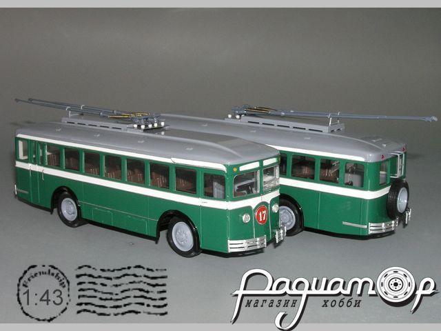 Троллейбус ЛК-2 «Лазарь Каганович» (1934) Р1-01