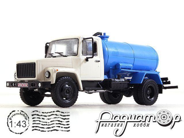 Легендарные Грузовики СССР №21, КО-503В (3307) (1989)