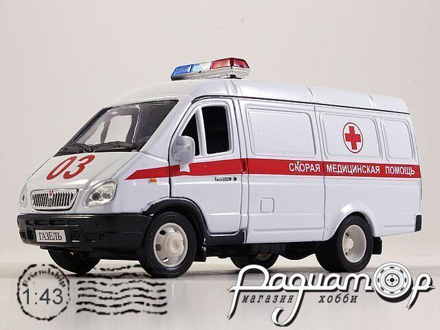 ГАЗ-2705 «Газель» Скорая медицинская помощь (2002) 200536 (TI)