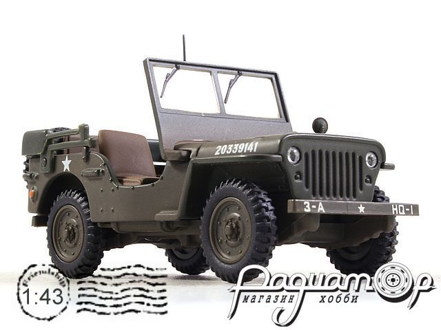 Jeep Willys 1/4 Ton Command Vehicle (1958) 200543