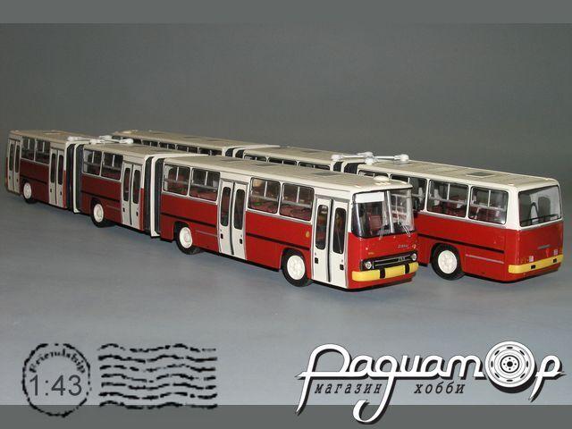 Сборная модель Ikarus 293 трёхсекционный K5-46