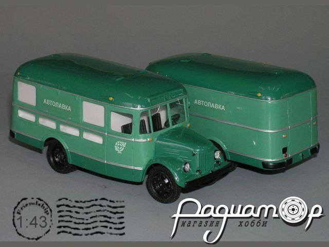 Сборная модель ПАЗ-659 4х2 автолавка K4-14
