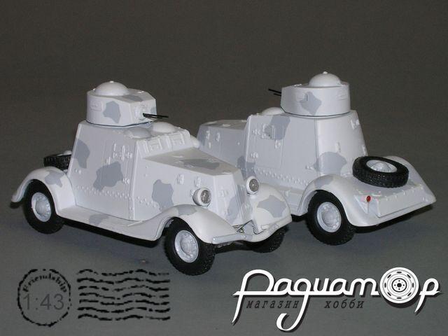 Сборная модель ФАИ-М бронеавтомобиль K2-41