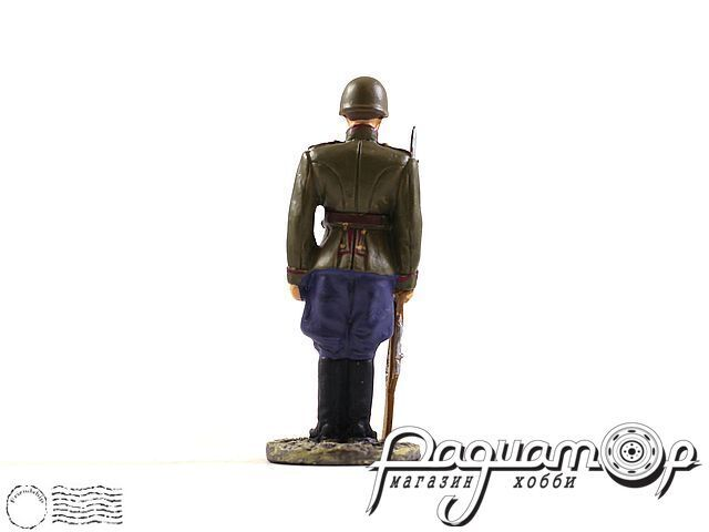 Рядовой гвардейских пехотных частей РККА в парадной форме для строя (1945) (I) 1884