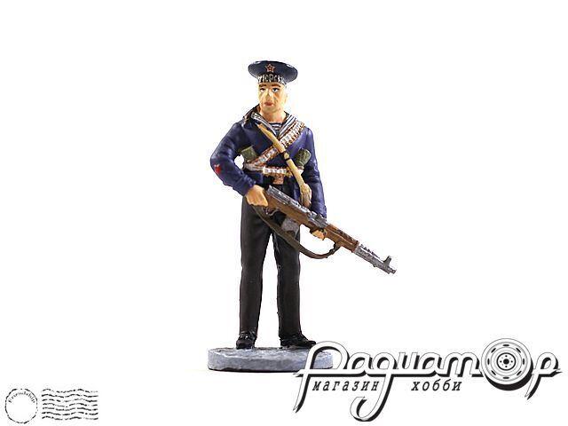 Краснофлотец морской пехоты Черноморского ВМФ (1941-1943) (I)