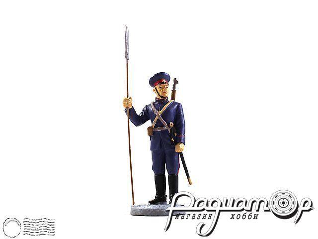 Отделенный командир донских казачьих частей в парадной форме (1941) (I) 1900