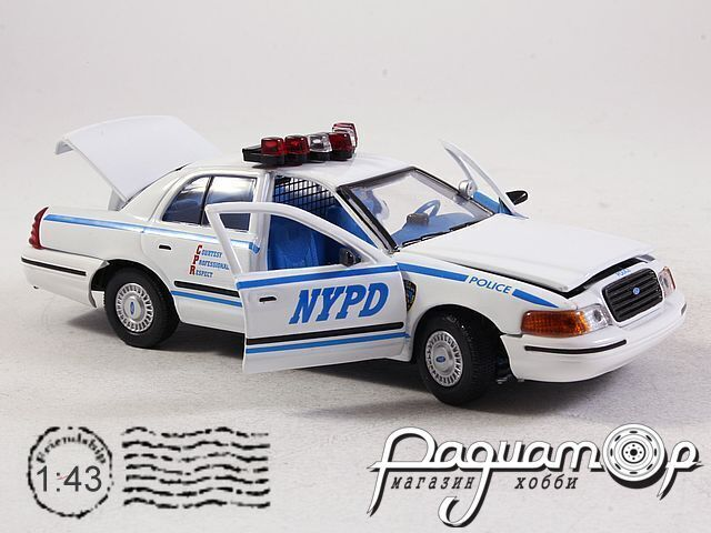 Ford Crown Victoria Police (1999) 27101 (TI)