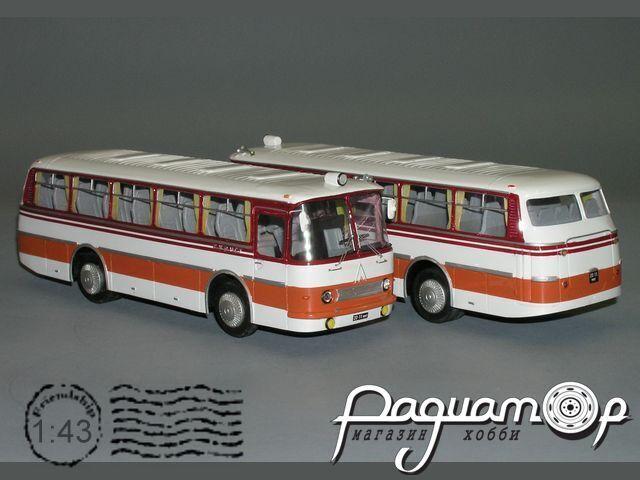 Сборная модель ЛАЗ-697Н K3-34