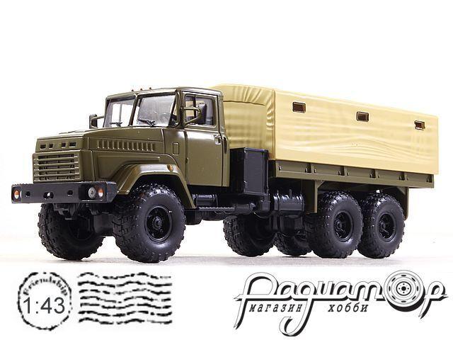 Легендарные Грузовики СССР №22, КрАЗ-6322 (1989)