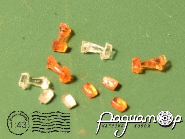 Фонарь освещения «гармошки» 1.368.2-000 (IKARUS), прозрачный (1шт) A069-1