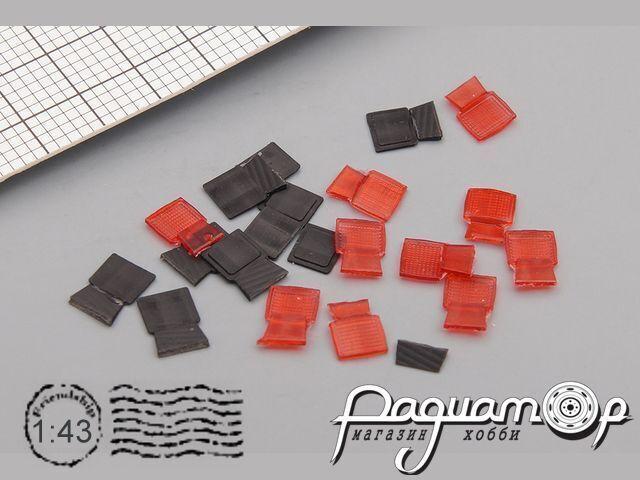 Фонарь задний 1.371.0-000 (IKARUS), красный (1шт) A072