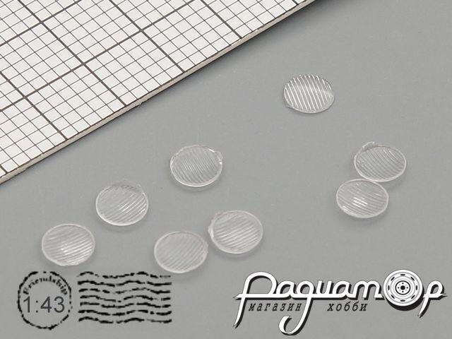 Комплект линз для фар (с рифлением) ФГ119 (3,5 мм) (8шт) ORN43009