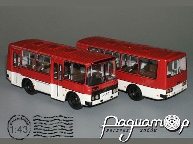 Сборная модель ПАЗ-32051 городской (2-дверный) K3-66