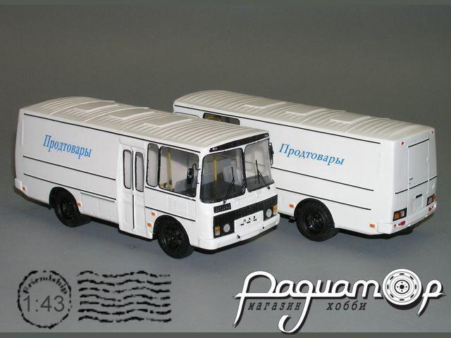 Сборная модель ПАЗ-37981 грузопассажирский K3-67