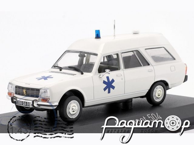 Peugeot 504 Break Ambulance (1979) 475442