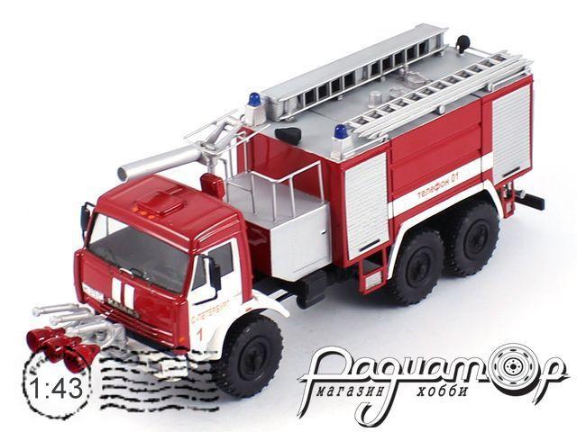 КамАЗ-43118 АЦА-40 «Прилуки» пожарный (2003) 3-21