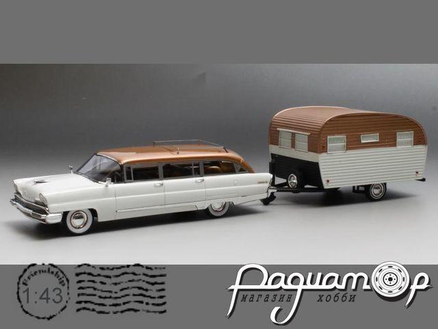 Lincoln Pioneer Station Wagon met Caravan (1956) GIM014A