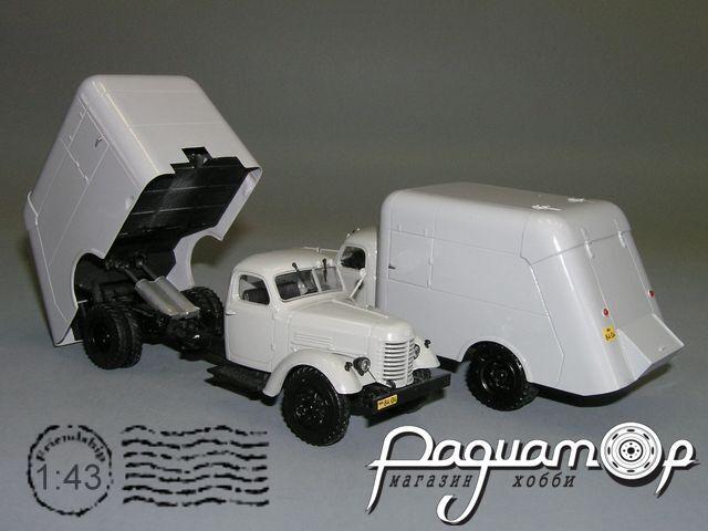 МС-2(150) мусоровоз удлинённый (1949) С4-58