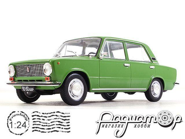 Легендарные Советские Автомобили №65, ВАЗ-21011 «Жигули» (1974)